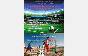 TOURNOI NATIONAL PAYS NE DE LA MER